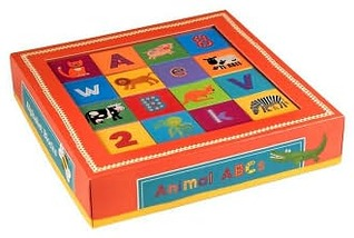 Alphabet Blocks, Animal ABCs  by  Clare Beaton