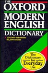 The Oxford Modern English Dictionary  by  Julia Swannell
