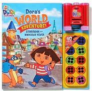 Nick Jr Doras  World Adventures Storybook and Binocular Viewer  by  Readers Digest Association