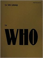 The Who Sheet Music Anthology  by  The Who