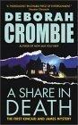 A Share in Death (Duncan Kincaid & Gemma James, #1)  by  Deborah Crombie