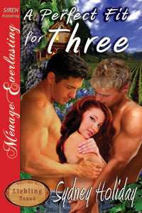 A Perfect Fit For Three  (Liebling, Texas #1) Sydney Holiday