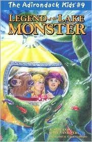 Legend of the Lake Monster  by  Justin VanRiper