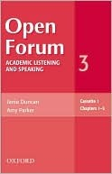 Open Forum: Academic Listening and Speaking  by  Amy   Parker