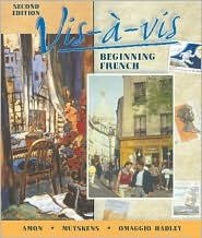 VIS-A-VIS: Beginning French  by  Evelyne Amon