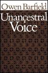 Unancestral Voice Owen Barfield