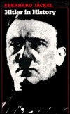 Hitler in History  by  Eberhard Jäckel