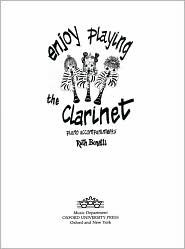 Enjoy Playing the Clarinet Piano Accompaniments  by  Ruth Bonetti