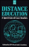 Distance Education  by  B.N. Koul