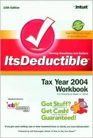 Its Deductible: Tax Year 2004 Workbook Intuit