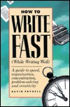 How to Write Fast  by  David Fryxell