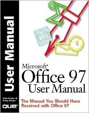 Office 97 User Manual  by  Rick Winter