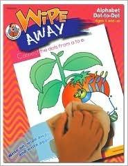 Wipe Away Alphabet Dot-To-Dot  by  School Specialty Publishing