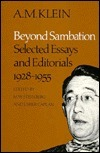 Beyond Sambation: Selected Essays And Editorials, 1928 1955 Usher Caplan