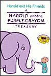 Harold and His Friends: A Harold and the Purple Crayon Treasure  by  Liza Baker