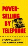 Power Selling  by  Telephone by Barry Z. Masser