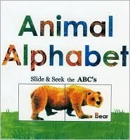 Animal Alphabet: Slide and Seek the ABCs  by  Alex A. Lluch