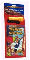 The Flying Substitute: And Other Wacky School Stories/Includes Book and Flashlight (Under the Covers Books)  by  Ellen Weiss