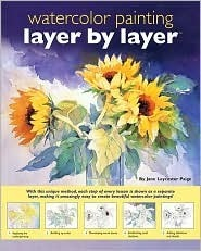 Layer  by  Layer Watercolor Painting by Jane Lycester Paige