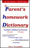 The Parents Homework Dictionary  by  Dan  McLaughlin