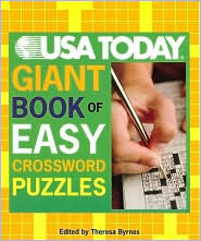 USA TODAY Giant Book of Easy Book of Easy Crossword Puzzles  by  Theresa Byrnes