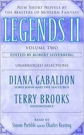 Legends II: New Short Novels  by  the Masters of Modern Fantasy (Legends 2, Volume 2of5) by Robert Silverberg