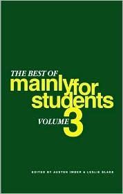 Best of Mainly for Students Vol 3  by  Leslie Blake