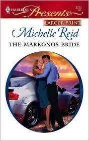 The Markonos Bride Michelle Reid