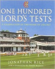 One Hundred Lords Tests Jonathan Rice