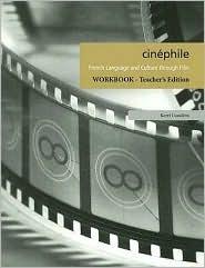 Cinéphile: Teacher Workbook  by  Kerri Conditto