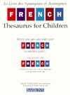 French Thesaurus for Children Joan Greisman