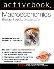 Macroeconomics Activebook Enhanced  by  Ronald Ayers
