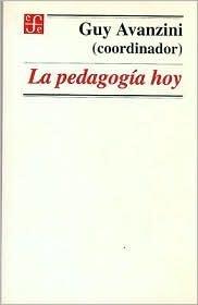 La Pedagogia Hoy Guy Avanzini