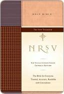 NRSV Catholic Edition Bible Anglicized--New Testament Anonymous