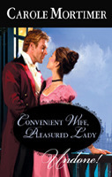 Convenient Wife, Pleasured Lady  by  Carole Mortimer