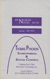 Pynchon Notes 34-35 (Spring - Fall 1994). Thomas Pynchon: Schizophrenia & Social Control  by  John M. Krafft