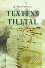 Textens tilltal  by  Jesper Svartvik