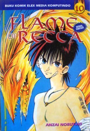 Flame Of Recca Vol. 10  by  Nobuyuki Anzai