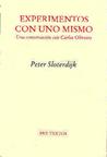 Experimentos Con Uno Mismo Peter Sloterdijk