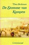 De Stomme van Kampen  by  Thea Beckman