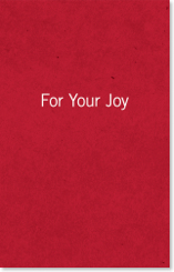 For Your Joy  by  John Piper