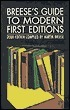 Breeses Guide to Modern First Editions and Their Values  by  Martin Breese