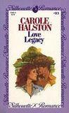 Love legacy. Carole Halston
