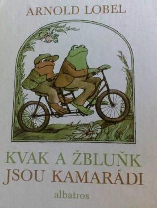 Kvak a Žbluňk jsou kamarádi Arnold Lobel