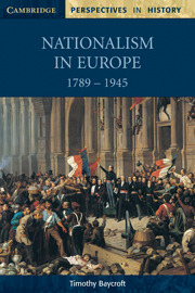 What Is a Nation?: Europe 1789-1914 Timothy Baycroft