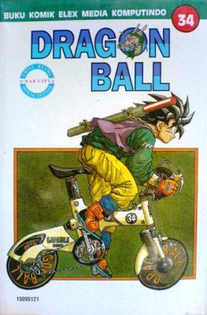 Dragon Ball Vol. 34 Akira Toriyama