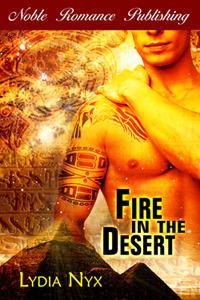 Fire in the Desert Lydia Nyx