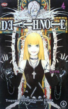 Death Note Vol. 4: Love  by  Tsugumi Ohba