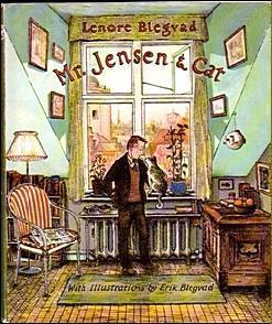 Mister Jensen and Cat Lenore Blegvad