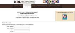 Whats Next Database Kent District Library (MI)